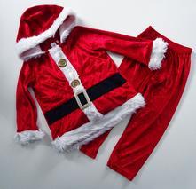 Vánoční kostým santa clause,