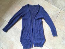 Cardigan, kardigan, delší svetr, svetřík pepco 116, pepco,116