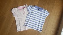 Polo trička gap a h&m - vel. 18 měsíců, gap,86