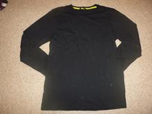 Černé bavlněné triko , george,158