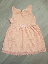 Dětské krajkové šaty, h&m,98