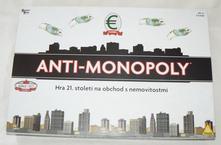 Společenská hra piatnik anti monopoly,