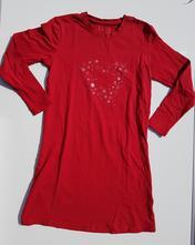 G206dívčí noční košile srdce vel. 110-116, tcm,110