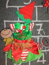Vánoční šatičky vel. 1-2 roky, 92