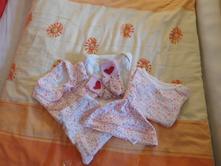 Kytičková souprava pro holčičku 3 - 6 měsíců, f&f,68