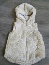 Chlupatková vesta next s oušky, next,98