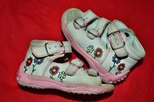 Kožené dívčí sandálky, baby,19