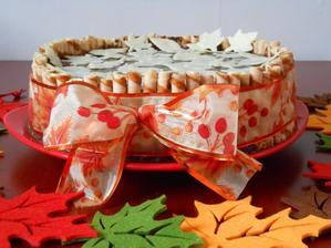 Podzimní dortík pro švagřinku