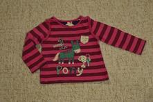 Dívčí růžové triko s potiskem george, 80, george,80
