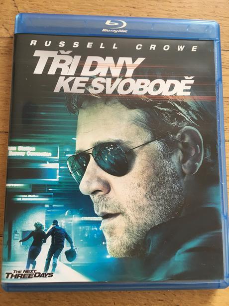 Blu ray disc film tři dny ke svobodě,