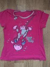 Tričko na spaní růžové, 40