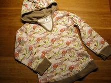Dívčí mikina- klokanka, palomino,110