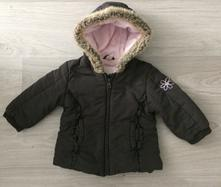 Zimni bunda s kožešinkou, c&a,80