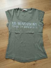 Vojenský zelené tričko, s