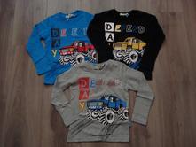 Chlapecké triko kugo monster truck vel. 98-128, kugo,98 - 128