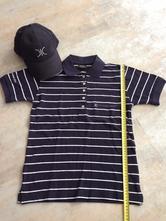Unisex set na golf sport kšiltovka tričko vel. s, s