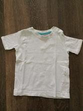 Bílé bavlněné tričko , f&f,74
