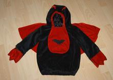 Karnevalový kostým netopýr či čertík,