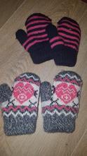 Teplé rukavice pro nejmenší, 80
