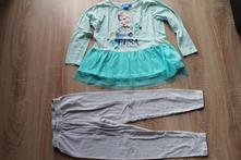 Dívčí dvojdílné pyžamo s elsou 110/116, disney,110