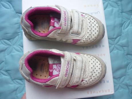 Hvězdičkové blikající tenisky, boty geox, vel.24, geox,24