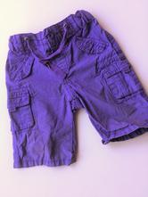 Dívčí fialové kraťasy č.103, c&a,80
