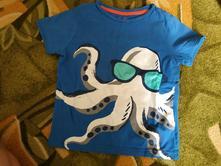 Bavlněné tričko chobotnice, marks & spencer,104