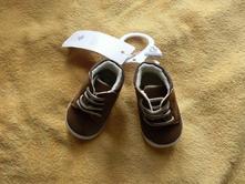 Dětské zimní botičky kotníkové kožíšek f&f hnědé, f&f,<17 / 17