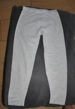 Teplejší legíny, elasťáky ze silnější bavlny, palomino,116