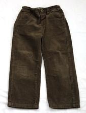 Kalhoty manšestrové vel. 3 - 4 r, next,104