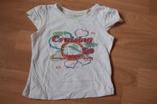 Bílé tričko 86/92, lupilu,86