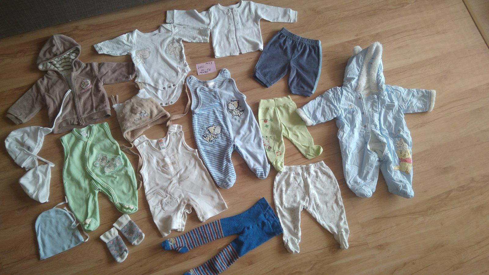 Mix 1 - kojenecké oblečení pro chlapce vel. 50-56. faec9d31e7