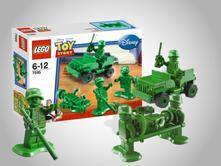 Lego toy story vojáci na hlídce,