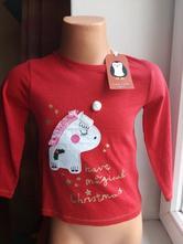 Dívčí vánoční triko, next,92