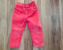 Tenké george kalhoty cihlová barva, george,86