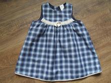 Kostkované šaty, h&m,80