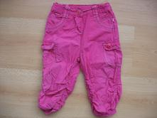 Plátěné kalhoty vel. 86, okay,86