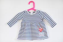 Pruhované šaty, h&m,68