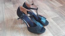 Sandály na vysokém podpatku vel.38, 38