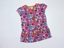 J922 květované triko s volánem vel. 86, miniclub,86