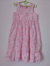 Květované šaty vel.122/1891, lego,122
