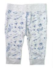 Šedé bavlněné kalhoty, f&f,68
