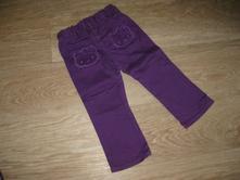 Bavlněné kalhoty s hellou kitty, h&m,86