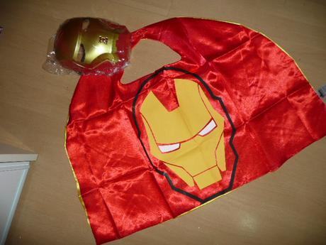 Maska kostým ironman 4-12 let,