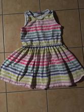 Letní barevné šaty, dopodopo,104