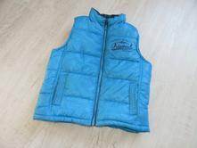 Modrá prošívaná vesta, 110