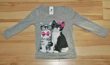 Tričko s kočkou, c&a,92