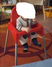 Jídelní židlička,