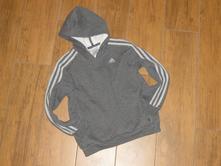 Adidas - chlapecká mikina s kapucí - vel. 128, adidas,128