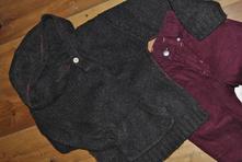 Marks & spencer teplý svetr s kapucí a klokankou,, marks & spencer,116